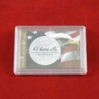 Frosty Coin Cases Holders For 1 Oz American Silver Eagles, 10 Count