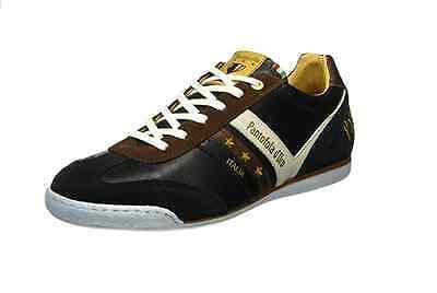 Uomo Pantofola d'ORO VASTO Basse Scarpe Sportive Nere | eBay