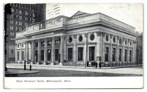 1909-First-National-Bank-Minneapolis-MN-Postcard