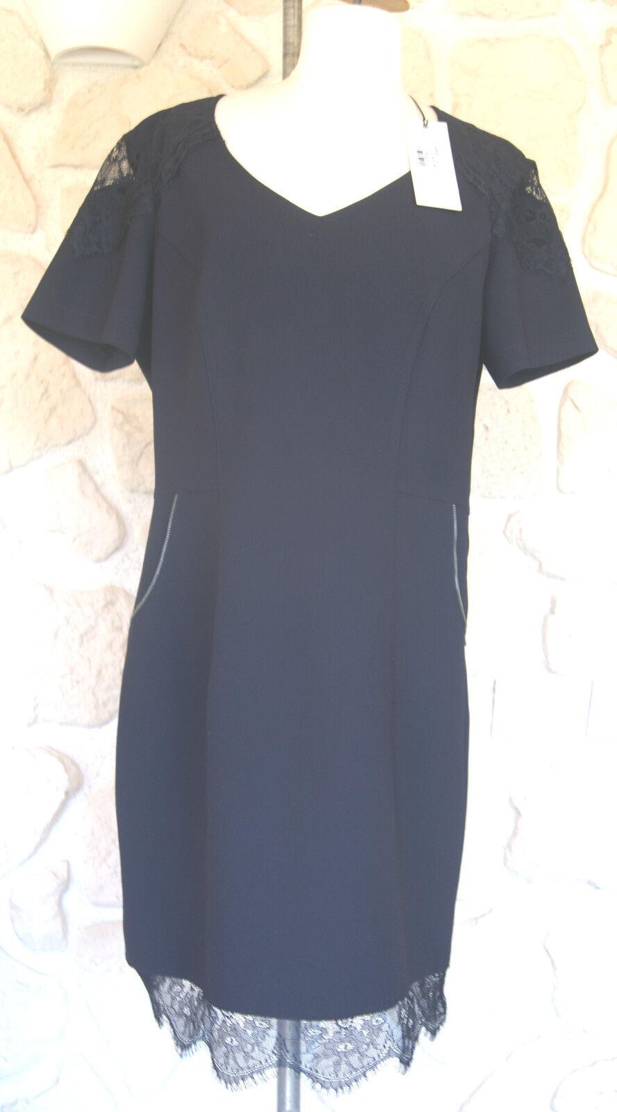Robe neuve blue nuit marque Eva Kayan size 42 étiqueté à