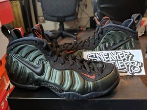 bdf74f817e2 Nike Air Foamposite Pro Sequoia Black Team Orange Green 624041-304 ...