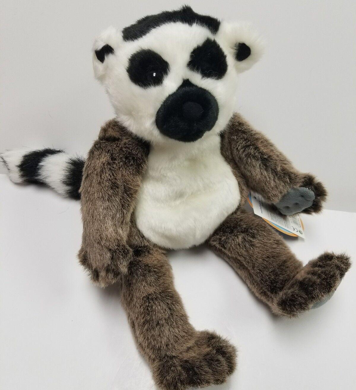 Manhattan Toy Wildlife Leala Lemur  Full Body Puppet 14 Inch RARE NWT