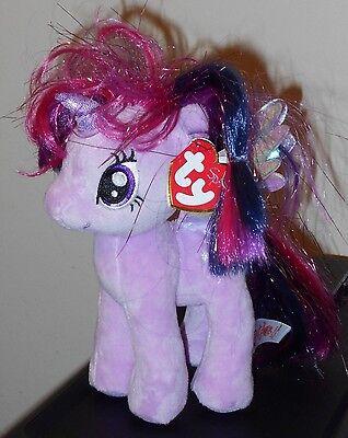 8 Inch MWMT Ty Beanie Baby ~ MY LITTLE PONY Twilight Sparkle the Pony