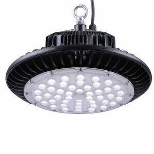 100W 150W 200W UFO LED High Bay Light Industrial Warehouse Workshop Food Factory