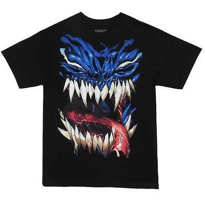 The Amazing Spider-Man Venom Face Marvel Comics Licensed Adult T Shirt