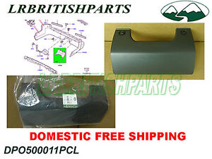 LAND ROVER LR3 LR4 REAR BUMPER TOWING EYE COVER DPO500011PCL GENUINE NEW