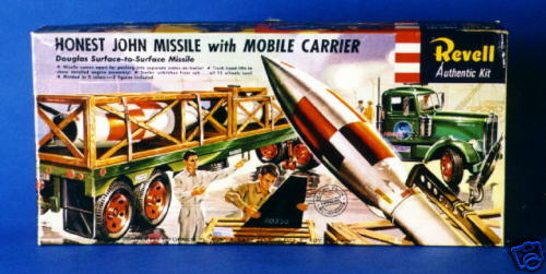 Honest John Missle with mobile carrier XXX ARMY