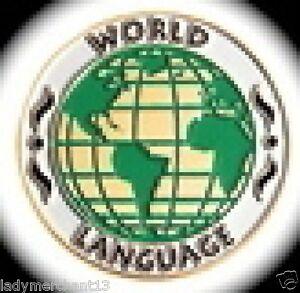034-WORLD-LANGUAGE-034-Enamel-Lapel-Pins-Wholesale-Lot-of-25-ALL-NEW
