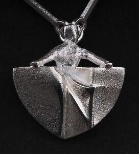Modern-LAPPONIA-Sterling-Silver-Necklace-Messenger-Bjorn-Weckstrom-RARE-NEW