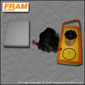 SERVICE-KIT-FORD-FUSION-1-4-TDCI-FRAM-OIL-AIR-FUEL-CABIN-FILTERS-2002-2012