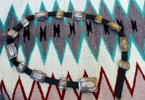 Old pawn Navajo belt