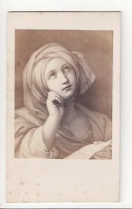 Vintage-CDV-Religious-Painting-Signed-Fratelli-Alinari-Florence-Italy