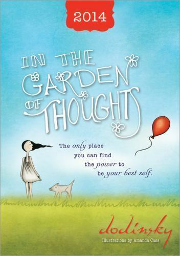 2014 In the Garden of Thoughts planner by Dodinsky