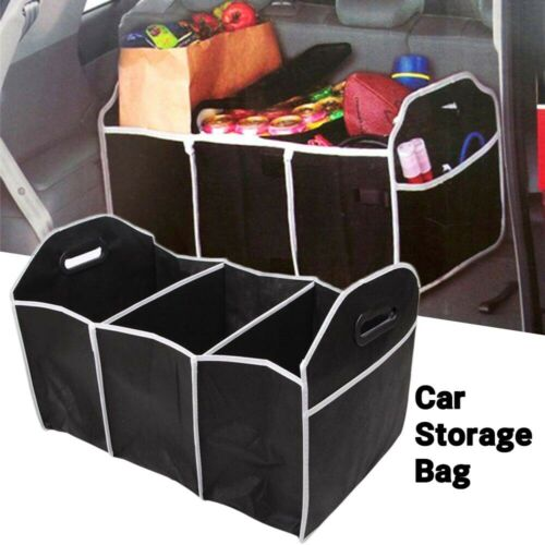 space saving 2-in-1 Handy Collapsible Car Foldable Shopping Travel Storage Bag
