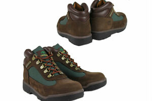 Timberland-Junior-Kids-FIELD-BOOT-16937-Brown-Olive