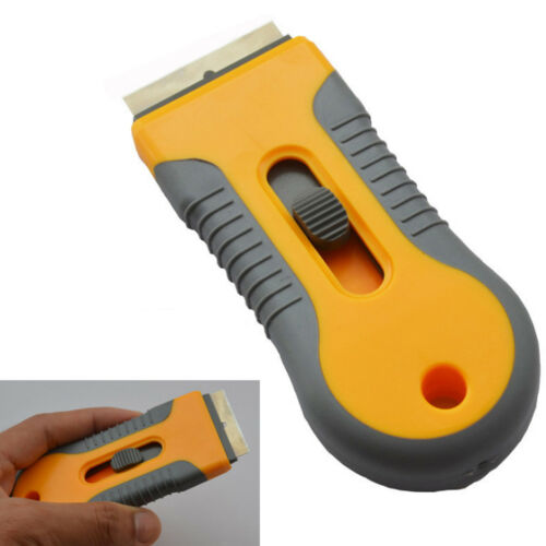 "Plastic Scraper Handle Razor Glass Ceramic Oven Window Tinting Tool 1.57/"" Blade"