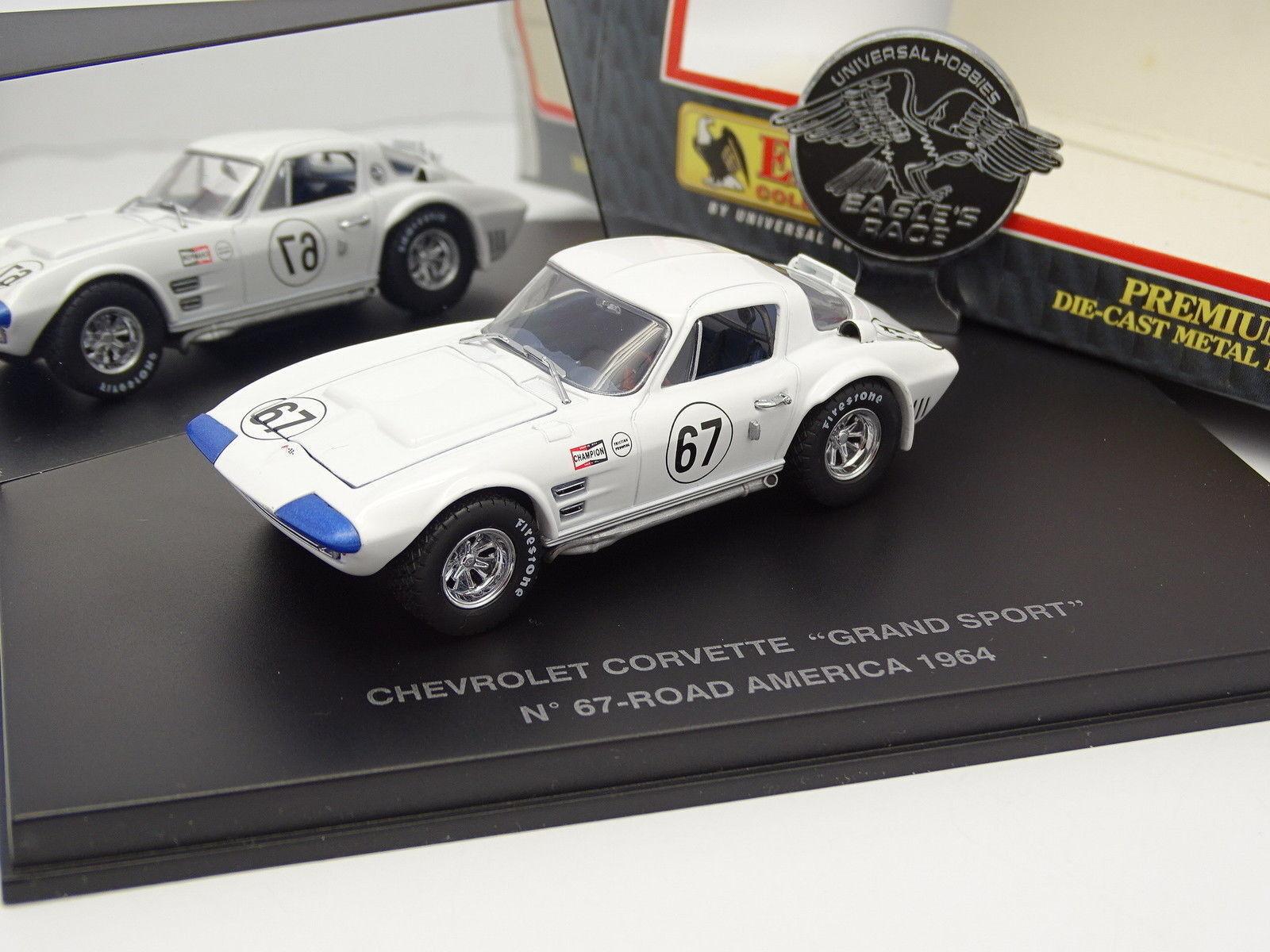 UH Eagle's Race 1 43 - Chevrolet Corvette Grand Sport No.67 Road America 1964