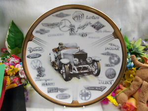 LOVELY-COALPORT-CENTENARY-OF-THE-MOTOR-CAR-1985-COLLECTOR-PLATE-27-1-2-W-544