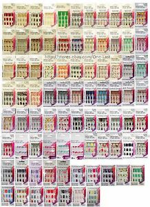 SASSY-CHIC-12pc-Fashion-Nails-FUN-amp-EASY-Glue-On-YOU-CHOOSE-Various-Short-1a