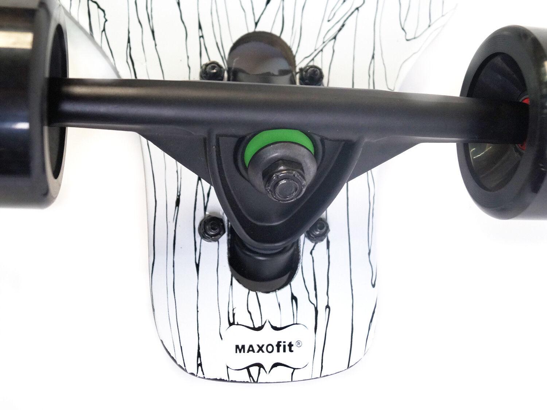 MAXOfit® Drop Through Longboard Komplettboard  Gothic No. 72 72 72  ea5302