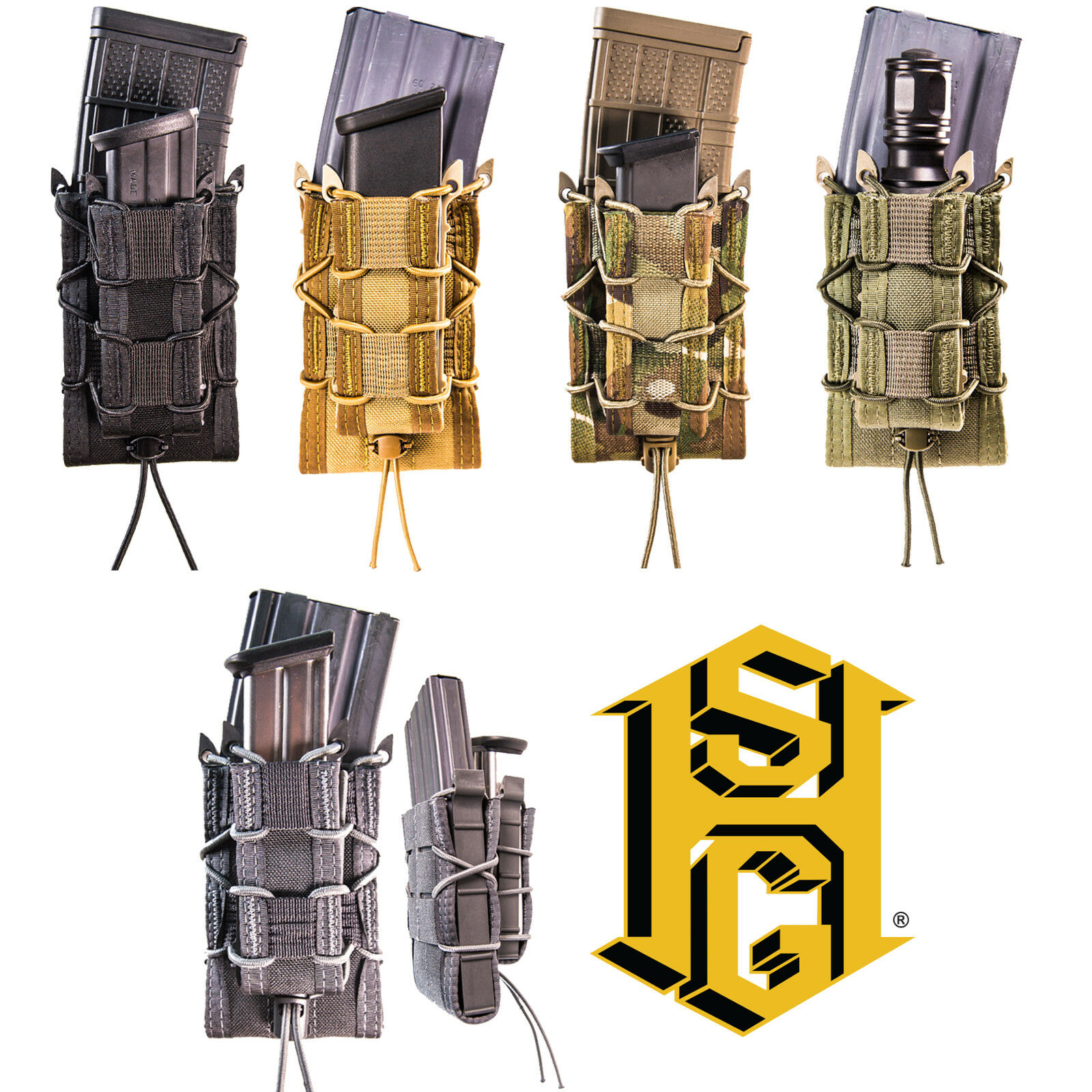 HSGI Tactical MOLLE Belt Mounted Universal Rifle Pistol Magazine Tool TACO Pouch
