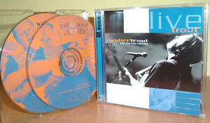 WALTER-TROUT-and-The-Free-Radicals-Live-Trout-Blues-Rock-2-CD-039-s