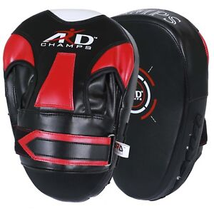 ARD-Focus-Pads-Boxing-Training-Mitts-MMA-Strike-Punching-Bag-Kick-Curved-Mitts