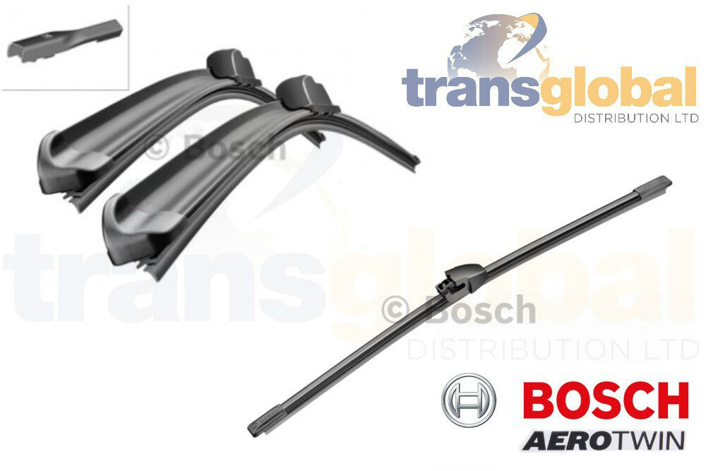 Bosch Aerotwin Front /& Rear Windscreen Wiper Blades