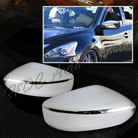 For 2013-2016 Nissan Altima Chrome Abs Plastic Side Mirror Cover Kit Lh+rh 2-pcs