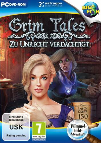1 von 1 - Grim Tales: Zu Unrecht Verdächtigt- Wimmelbildspiel (PC, 2016, DVD-Box)