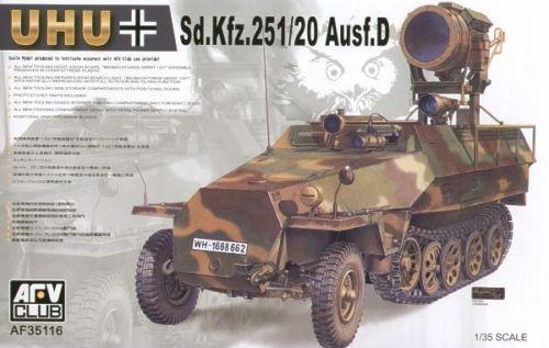 1 35 AFV Club Sd.Kfz. 251 20 Ausf.D UHU