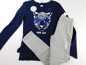 NWT-GAP-Girl-039-s-2-Pc-Outfit-Flip-Sequin-T-Shirt-Cool-Cat-Leggings-M-amp-XXL-New
