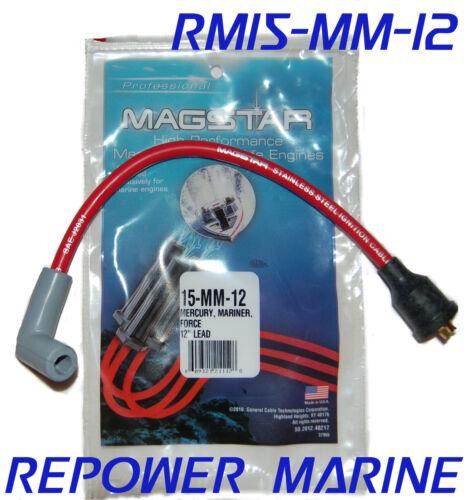 "12/"" HT Spark Plug HT Lead Mariner Mercury Force Outboard"