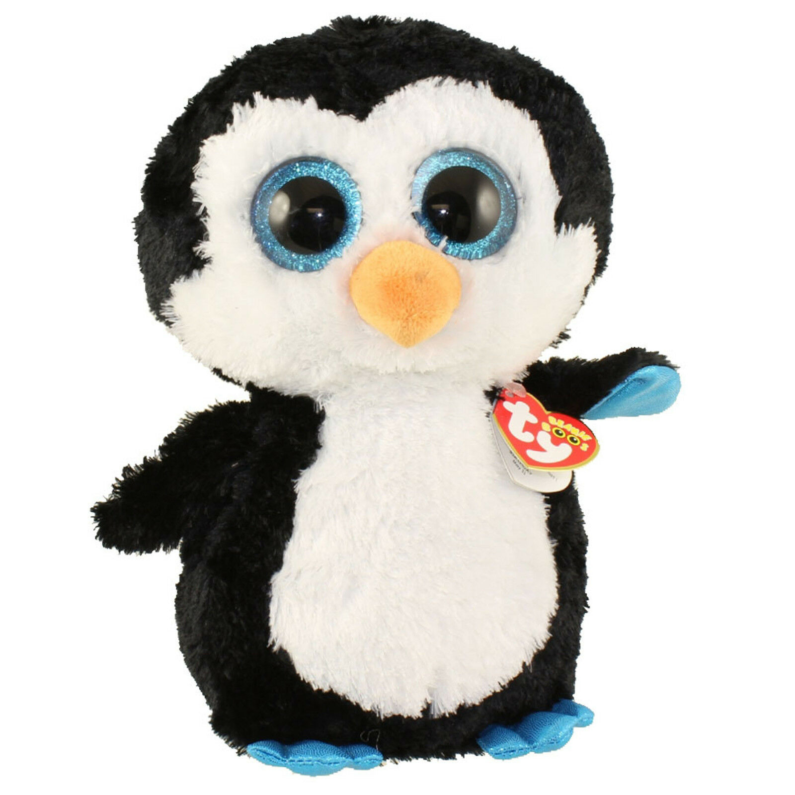 Soft toy TY BEANIE BOOS WADDLES penguin 42 cm