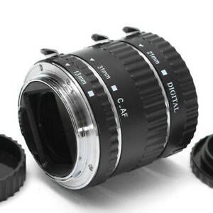 Macro-Extension-Tube-Ring-Auto-Focus-AF-for-Canon-EOS-Camera-EF-EF-S-Lens-DC732