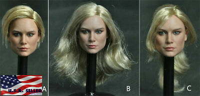 Mancotoys 1//6 Female Head Sculpt Captain Marvel MC002C F 12/'/' Figure Body Model