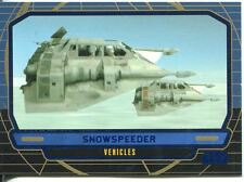 Star Wars Galactic Files Blue Parallel #277 Snowspeeder