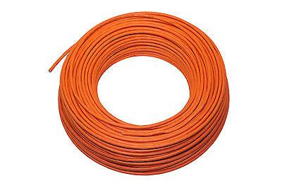 0,49€/m 100m Verlegekabel Lan-kabel Cat7 Facab 1000 Mhz Stp Orange Cat-7 Cat 7 Hochglanzpoliert
