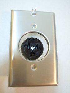Details about Leviton Clock Outlet 5361-CH 20 Amp Home Audio/Picture Art  Receptacle Nema 5-20R