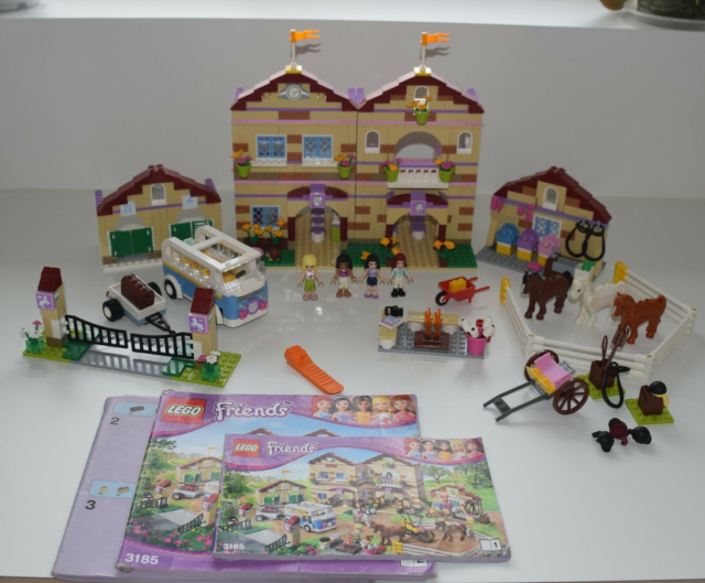 Lego Friends, 3185 Heartlake sommer ride lejer / rideskole.…