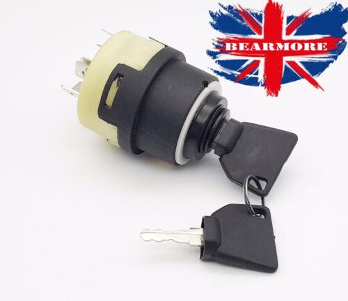 JCB STARTER SWITCH Branford dumper roller JC1 92274 ignition switch 2keys 9-Pole