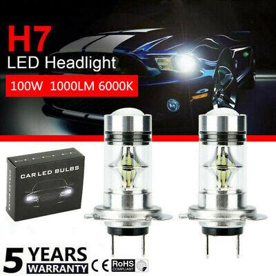 H3 COB LED Bright Xenon Car Auto Fog Light Lamp Bulb Super White NEW FT