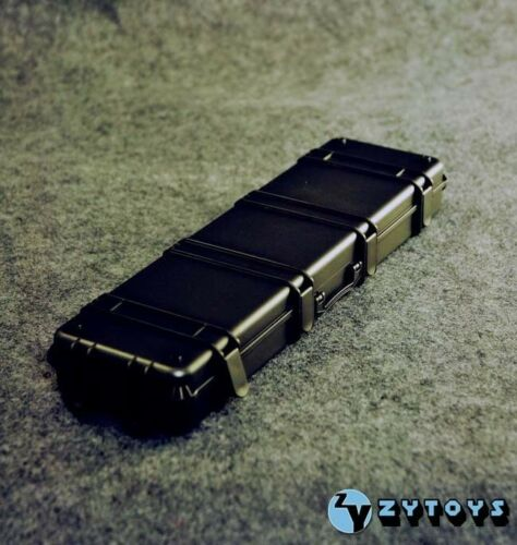 *Without the Original Packaging* 1:6 scale Weapon Case ZY TOYS Black