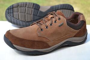Impermeable Talla 5 Casual Con Eur44 Clarks Uk9 Cordones Zapatos Gtx Tan Hombres Zqxvwt81