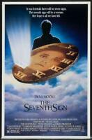 The Seventh Sign 27x41 Original Movie Poster One Sheet Rolled Demi Moore 1988
