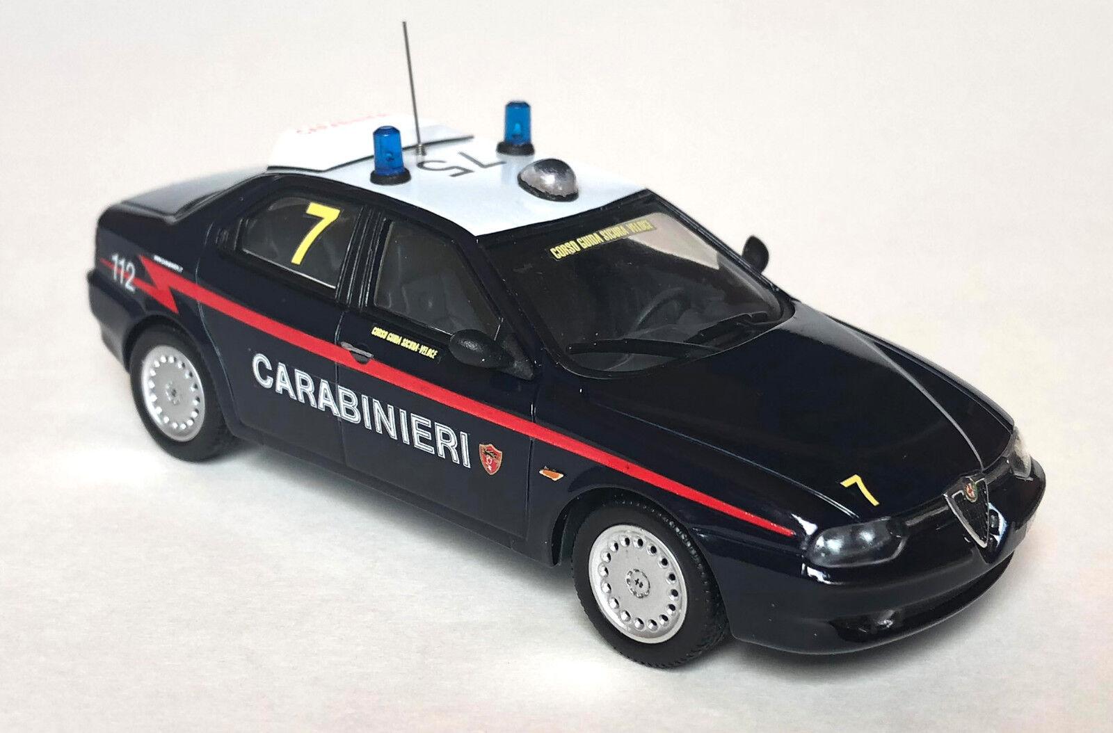 Alfa Romeo 156 Carabinieri NRM NRM NRM Corso Guida Sicura-veloce 1 43  minorista de fitness