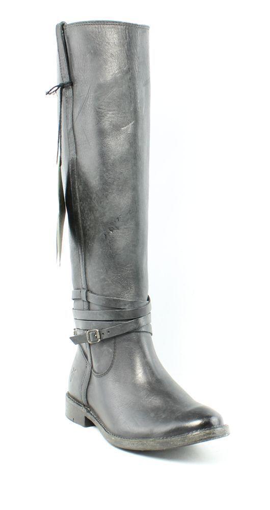 Frye Shirley botas Negras Placa De Montar Para Para Para Mujer Talla 5.5 B Nuevo  428 ANB  Con precio barato para obtener la mejor marca.