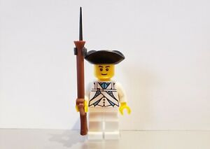 Lego PIRATES AMERICAN REVOLUTION COLONIAL MILITIA Infantry Soldier MINIFIG V2