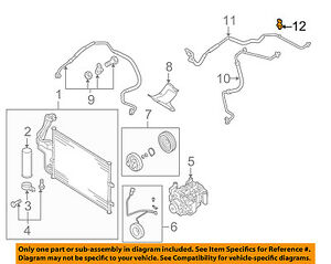 Details about MAZDA OEM 04-09 3 Air Conditioner A/C-Refrigerant Pressure  Switch B01A61503