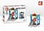 Sembo-Blocksteine-Store-Schokolade-Brille-Kinder-Figur-Spielzeug-Modell-Geschenk Indexbild 5